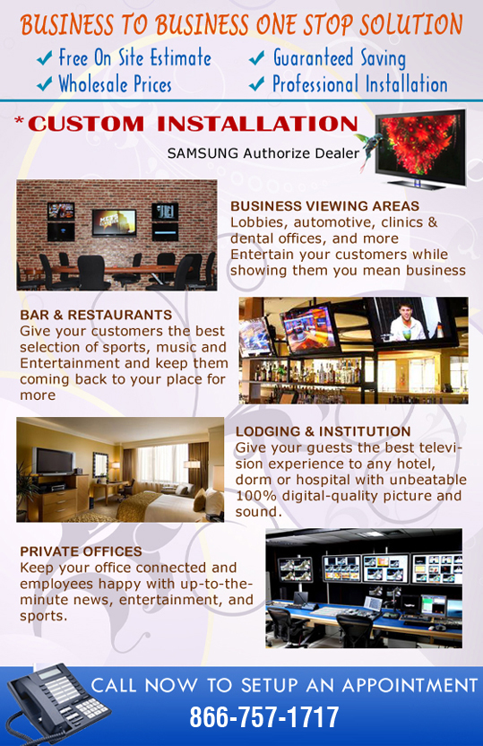 Business viewing areas, bar and restaurants, Private Offices